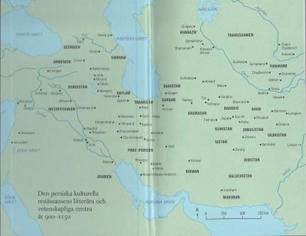 Karta på pärmens insida